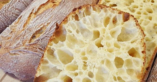 Домашній італійський хліб чіабатта - рецепт приготування
