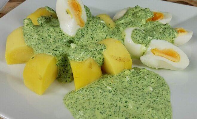 Франкфуртський зелений соус - рецепт приготування