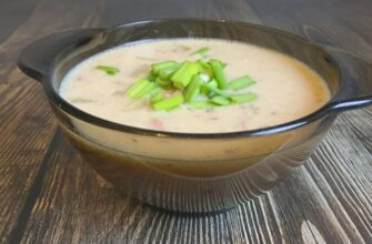 Картопляний суп з шинкою і сиром - рецепт приготування