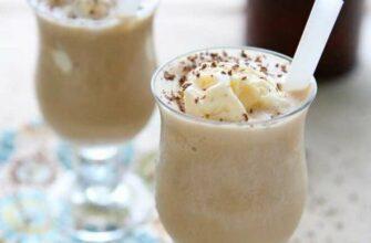 Коктейль «Coffee Milkshake» з шоколадним сиропом - рецепт приготування