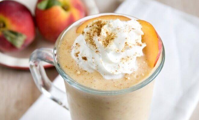 Коктейль «Персиковий кави» з вершками - рецепт приготування