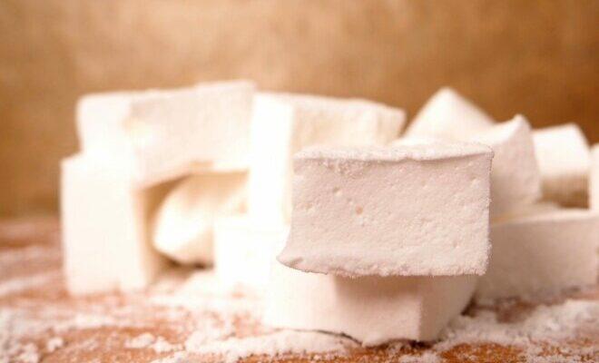 Маршаллову з цукру, желатину і води - рецепт приготування