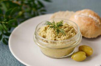 Оливковий паштет - рецепт приготування