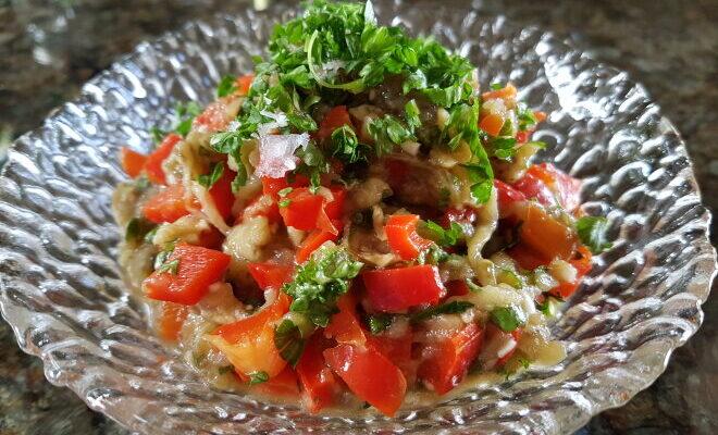 Пікантні баклажани - рецепт приготування