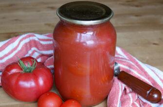 Помідори томатному соку - рецепт домашньої закрутки