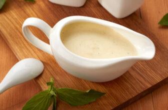 Соус «Бешамель» на молоці - рецепт приготування