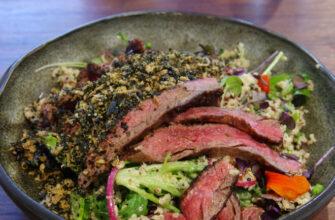 М'ясний салат - рецепт приготування