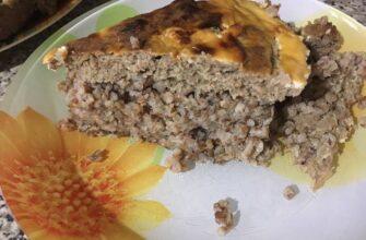 Часто готую гречаний пиріг - рецепт приготування