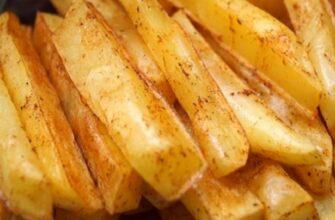 Готую смачний картопля фрі швидко і без єдиної краплі олії - рецепт приготування