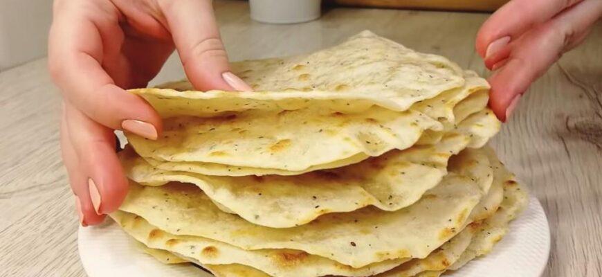 Мама показала, як готувати коржі замість хліба - рецепт приготування