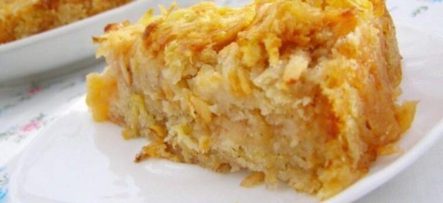 Обожнюю яблучний пиріг без грама муки і цукру - рецепт приготування