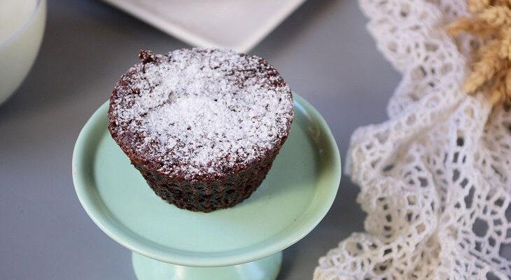 Пісні шоколадні кекси «Брауні» - рецепт приготування