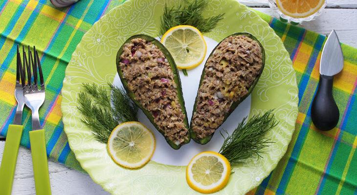 Салат з авокадо з тунцем - рецепт приготування