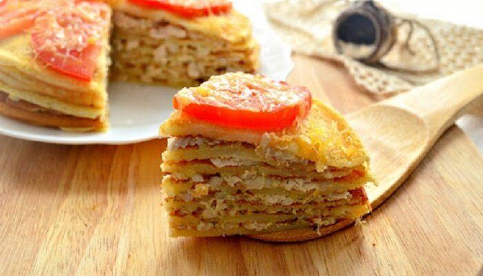 Свекруха завжди цікавиться, чи буду я готувати до торжества свій фірмовий м'ясний торт - рецепт приготування