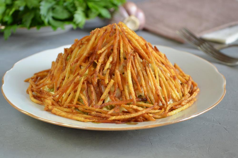 Куриний салат Мурашник