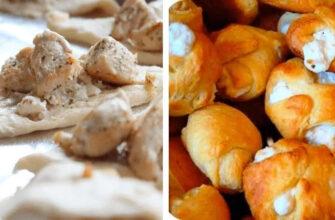Діти мої курячо-часникові слоїсті пампушки просто обожнюють - рецепт приготування