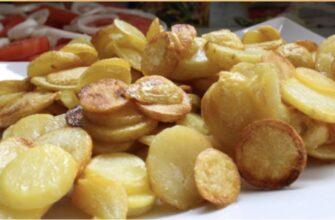 Готую ідеально хрустка картопля лише з 1 чайною ложкою олії - рецепт приготування