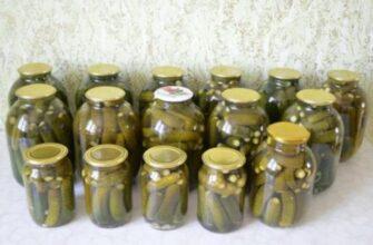 Закриваю огірки за рецептом бабусі - рецепт приготування