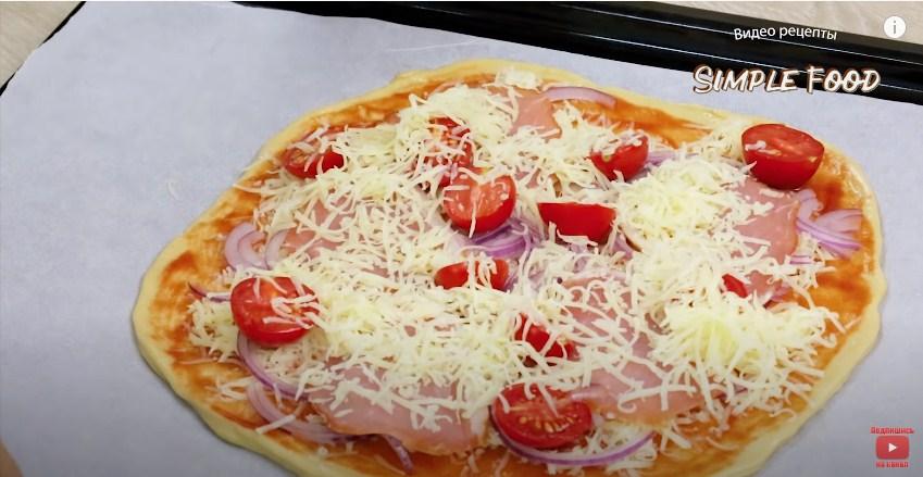 Піца без дріжджів - це справжня піца, як в піцерії